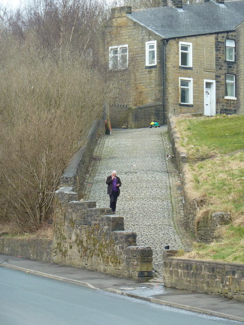 Path from Duke Street to Shaw Street, Colne