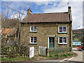 SE6697 : Stone cottage, Church Houses by Pauline Eccles