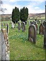 SE6797 : A quiet churchyard by Pauline Eccles