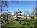 TQ2874 : Clapham Common, bandstand by Mike Faherty