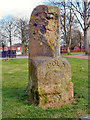 SJ5186 : The Bombed Milestone, Victoria Park by David Dixon
