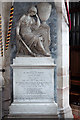 SJ7907 : St Bartholomew's church, Tong - monument to George Durant by Mike Searle