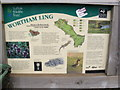 TM0879 : Wortham Ling Information Board by Adrian Cable