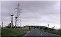SU6506 : Pylons on Portsdown Hill by John Firth