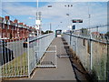 ST0666 : Entrance ramp to platform 1, Rhoose by John Grayson