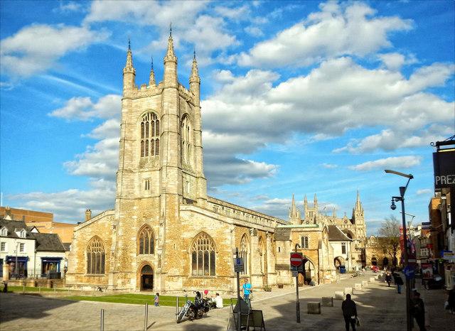 St John the Baptist parish church, Peterborough