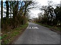 TL1320 : Lane and house near to perimeter of Luton airport by Bikeboy