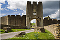 ST8057 : Farleigh Hungerford Castle - the East Gatehouse (1) by Mike Searle