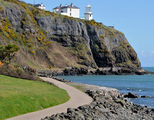 The Blackhead path and lighthouse, Whitehead