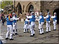 NY9364 : Hexham Morris Men by Oliver Dixon