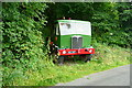 SK2464 : Lorry off Pilhough Lane by Graham Horn
