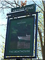 "SU1430 : Sign at ""The Boathouse"" PH by Shazz"