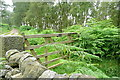 SK2576 : Gate onto Froggatt Edge by Graham Horn