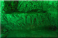 TQ4369 : Carvings, Chislehurst Caves, Kent by Christine Matthews