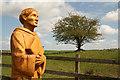 TF1170 : Benedictine monk sculpture : Week 18
