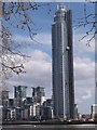 TQ2977 : St George's Wharf Tower by R Sones