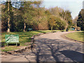 SD6008 : Haigh Country Park, Halt on the Miniature Railway by David Dixon
