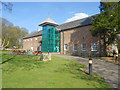 SD5908 : Haigh Hall Stables Block, Lift Tower and Information Centre by David Dixon