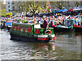 TQ2681 : Canal festival, Little Venice by Julian Osley