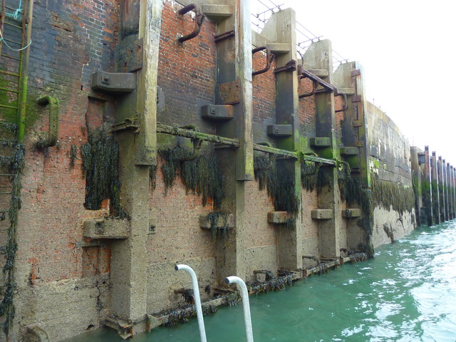 Harbour wall, Vattenfall's jetty
