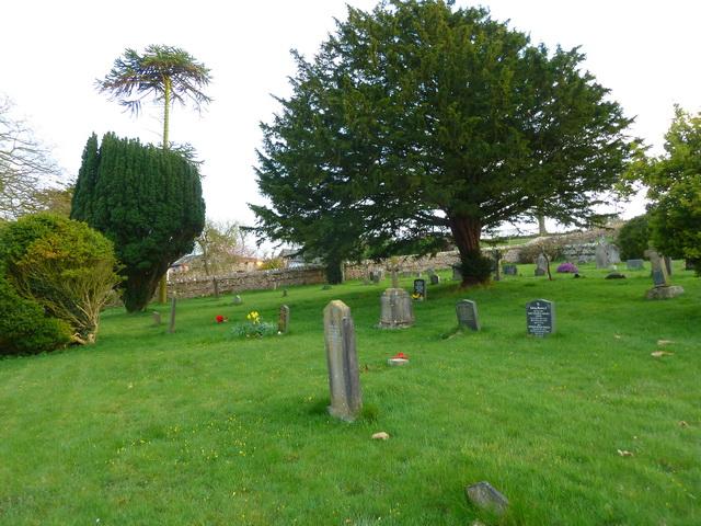 St Matthews Church, Dendron, Graveyard