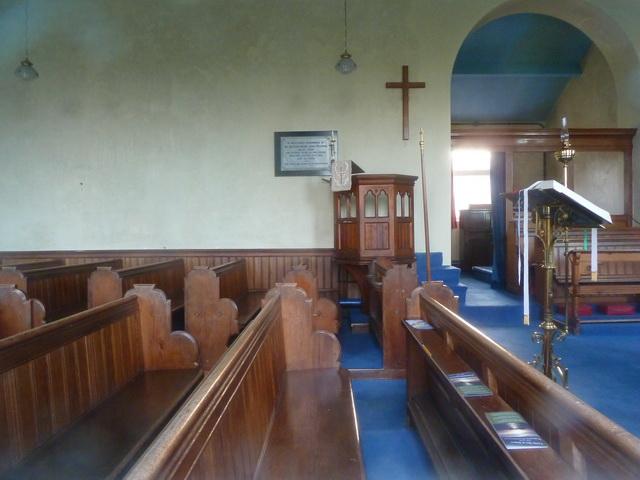 St Matthews Church, Dendron, Interior
