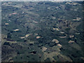 NT4338 : Halkburn (Long Park) wind farm from the air by Thomas Nugent
