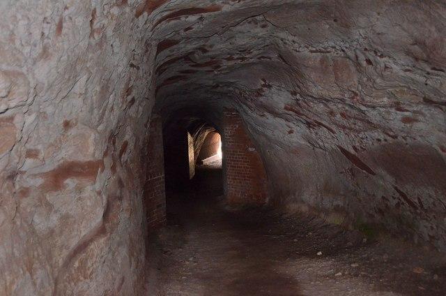tunnel to cove harbour  u00a9 jim barton cc 2 0