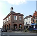 TQ2550 : Reigate Old Town Hall & Clock by Paul Gillett