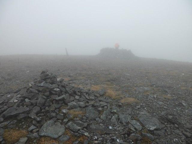 The summit of Ben Chonzie
