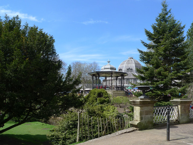 Bandstand at Buxton Pavilion Gardens