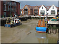 TM0421 : New development at former Cooks Shipyard, Wivenhoe by Roger Jones
