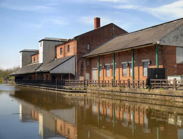 Wigan Pier Museum Warehouse at Wigan Pier