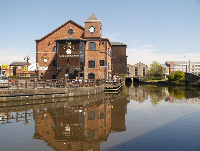 Wigan Pier Museum The Orwell at Wigan Pier
