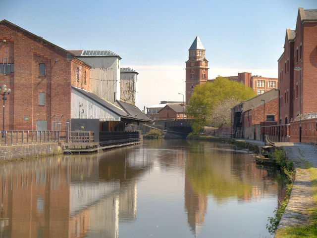 Wigan Pier Museum Canal Wigan Pier