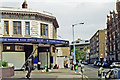 TQ2781 : Entrance to Edgware Road station at Chapel Street, 1991 by Ben Brooksbank