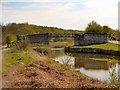 SD5803 : Leeds and Liverpool Canal, Moss Bridge by David Dixon