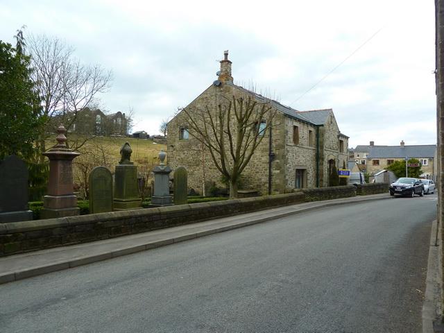 Former Wesleyan Chapel and graveyard, Trawden