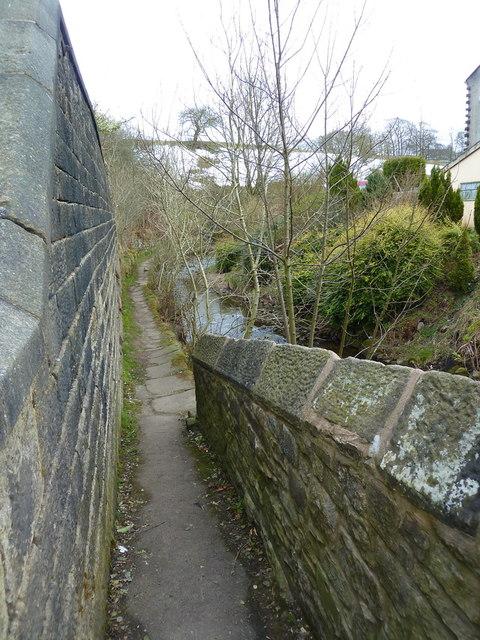 River side walk, Trawden