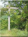 TM2574 : Broad End Farm sign by Adrian Cable