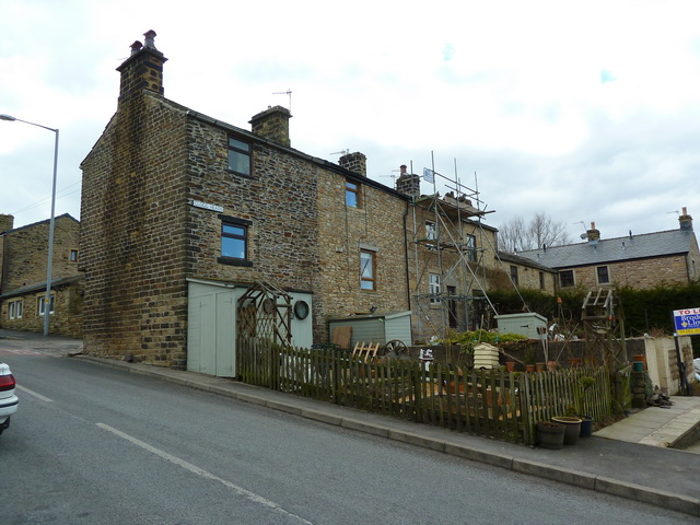 Rear view of Clogg Heads, Trawden