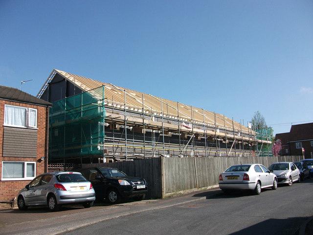 Former Police Station site - building works (6)
