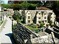 SP1620 : North across the Model Village, The Old New Inn, Bourton-on-the-Water by Brian Robert Marshall