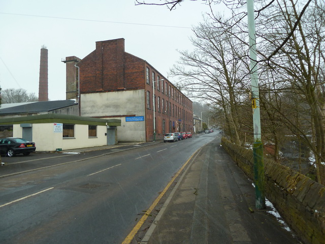 Park Mill and Holcombe Road, Helmshore