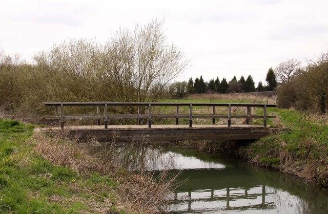 Footbridge over the River Cole