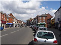 SK3516 : Ashby-de-la-Zouch: town centre by Chris Downer