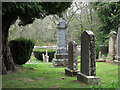 NH6038 : Graveyard of Old Church of Bona by Trevor Littlewood