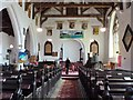 TA0977 : Interior of All Saints church, Hunmanby, Nth. Yorkshire by Derek Voller