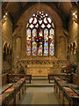 SJ8476 : St Mary's Church, Chancel and East Window by David Dixon