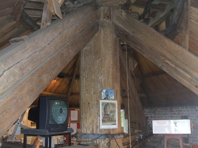 Main Post at Cromer Windmill